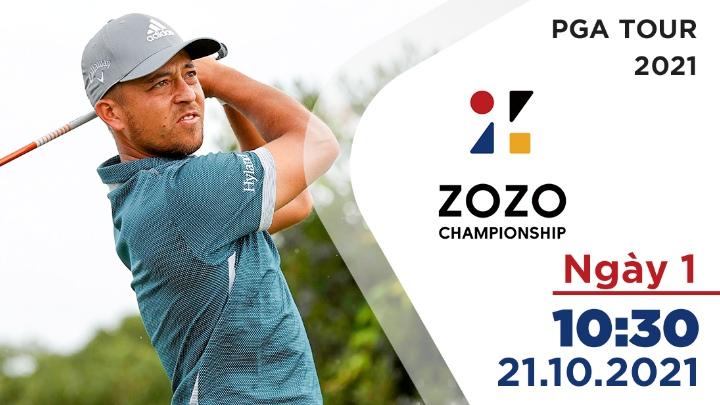 Ngày 1: Zozo Championship 2021