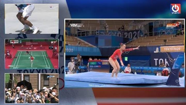Trực Tiếp Đa Màn Hình Olympic 2020