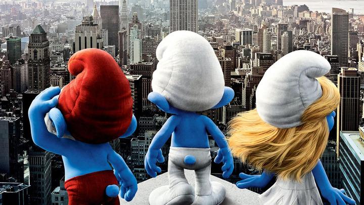 XÌ TRUM - The Smurfs
