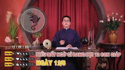 12/06 Điều Bất Ngờ Gì Đang Đợi 12 Con Giáp