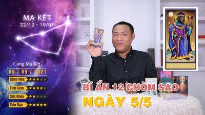 5/5 Bí Ẩn Của 12 Chòm Sao Hôm Nay Là Gì
