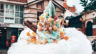 Ẩm Thực Trung Hoa - Kem Kẹo Bông
