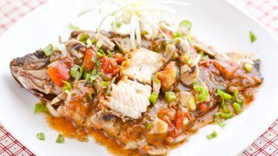 Món Ăn Nhật Bản - Cá Rô Nhật