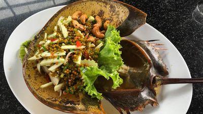 Ẩm Thực Đường Phố Thái Lan - Cua Móng Ngựa