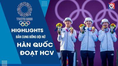 Bắn cung – Chung kết đồng đội nữ - Hàn Quốc đoạt HCV