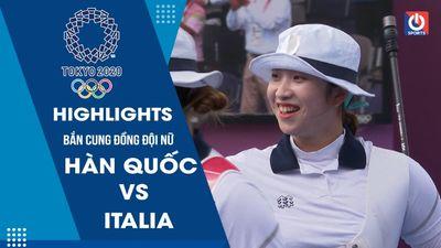 Bắn cung - Tứ kết đồng đội nữ - Hàn Quốc - Italia