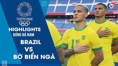 Brazil để hòa đáng tiếc trước Bờ Biển Ngà