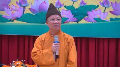 Ban GDPG T.Ư Thăm Trường Phật Học Tại Huế