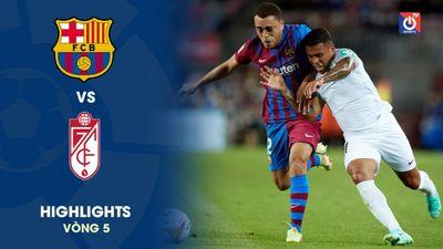Barcelona - Granada - V5 - La Liga