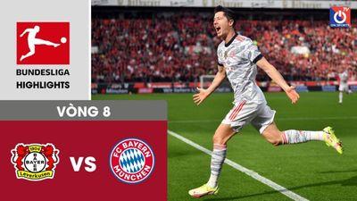 Bayer Leverkusen - Bayern Munich - V8 - Bundesliga