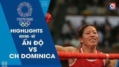 Boxing nữ - Ấn Độ - Cộng hoà Dominica
