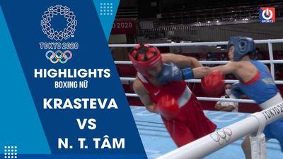 Boxing - Nguyễn Thị Tâm vs Krasteva Stoyka Zhelyazkova - hạng cân 48-51g