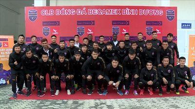 CLB Becamex Bình Dương đặt mục tiêu top 6 tại V.League 2021