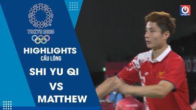 Cầu lông - Shi Yu Qi (Trung Quốc) - Abela Matthew (Malta)