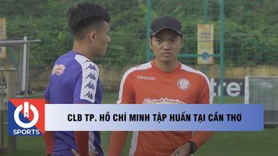 CLB TP. Hồ Chí Minh tập huấn tại Cần Thơ