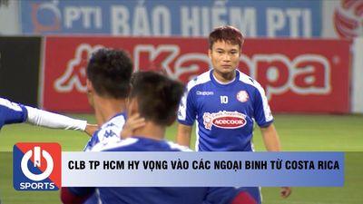 CLB TP HCM hy vọng vào các ngoại binh