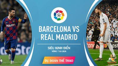 Barcelona – Real Madrid: Messi Phục Hận