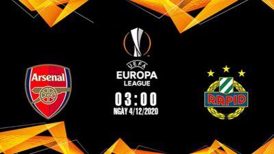 Arsenal và Rapid Wien Cúp C2 Châu Âu.