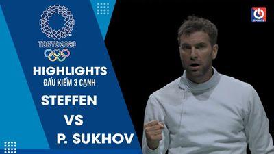 Đấu kiếm 3 cạnh - B. Steffen vs P. Sukhov