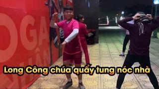 Duy Trung thách Long công chúa nhảy như dancer chuyên nghiệp