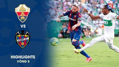 Elche - Levante - V5 - La Liga