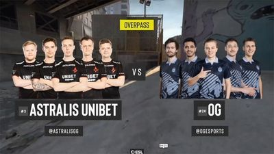 ESL Pro League S11 EUrope - Astralis vs OG Map2 De_overpass Day 23 Stage2