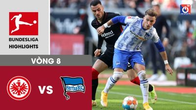 Frankfurt - Hertha Berlin - V8 - Bundesliga