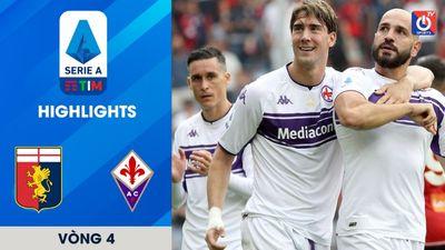Genoa - Fiorentina - V4 - Serie A