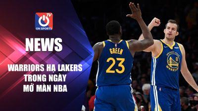 Golden State Warriors đánh bại LA Lakers trong ngày mở màn NBA