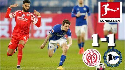 Highlights | 1. FSV Mainz 05 - Arminia Bielefeld | Vòng 27 Bundesliga
