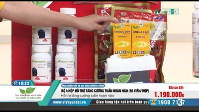 4 Hộp Bổ Não Green Living Tg Omega, Kẹo, Túi TQT
