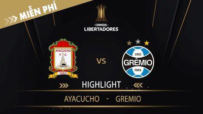 Highlight   Aya Cucho Vs Gremio   Vòng Loại 1 Copa Libertadores