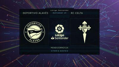 Highlights   Alaves - Celta Vigo   Vòng 29 La Liga 2020/21