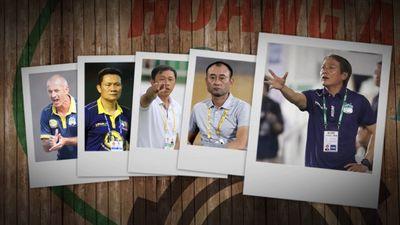 Hoàng Anh Gia Lai và 5 đời huấn luyện viên