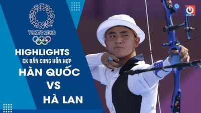 Highlights: Bắn cung - Hàn Quốc - Hà Lan - Olympic Tokyo 2020