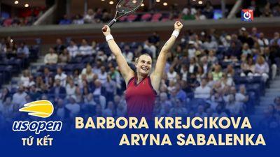 Highlights - Barbora Krejcikova - Aryna Sabalenka - US Open