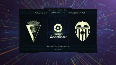 Highlights   Cadiz - Valencia   Vòng 29 La Liga 2020/21