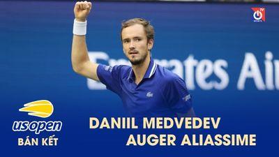 Highlights - Daniil Medvedev - Auger Aliassime - US Open 2021