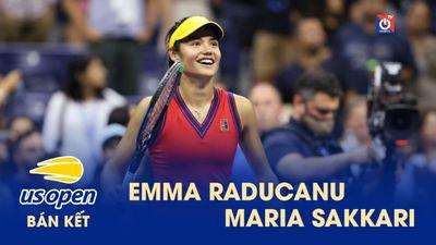 Highlights - Emma Raducanu - Maria Sakkari - US Open