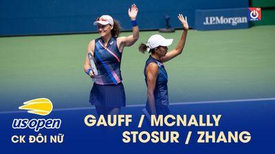 Highlights - Gauff-McNally - Stosur-Zhang - CK đôi nữ US Open
