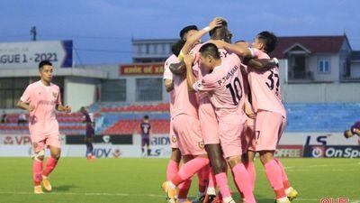 Highlights | Hồng Lĩnh Hà Tĩnh - Becamex Bình Dương | Vòng 11 - GĐ 1 V.League 2021
