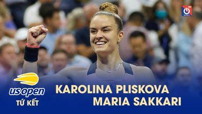 Highlights - Ka. Pilskova - M. Sakkari - US Open 2021