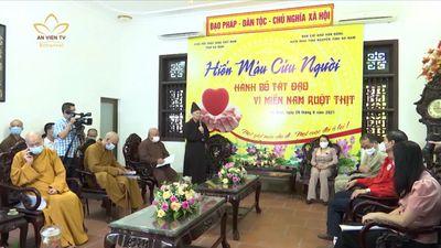 Hà Nam: 500 Tăng Ni, Phật Tử Hiến Máu Vì Miền Nam Ruột Thịt