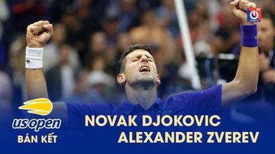 Highlights - Novak Djokovic - Alexander Zverev - US Open 2021