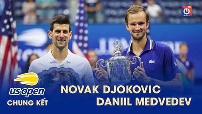 Highlights - Novak Djokovic - Daniil Medvedev - US Open