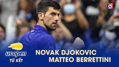Highlights - Novak Djokovic - Matteo Berrettini - US Open