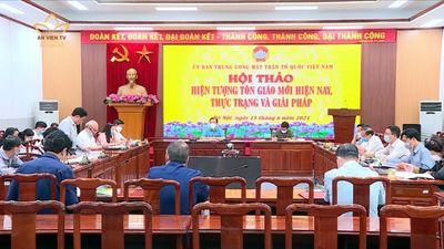 Hà Nội: Hội Thảo Về Hiện Tượng Tôn Giáo Tại Việt Nam
