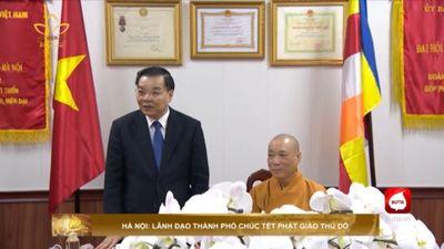 Hà Nội: Lãnh Đạo Thành Phố Chúc Tết Phật Giáo Thử Đô