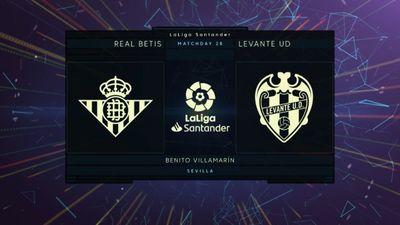 Highlights   Real Betis - Levante   Vòng 28 La Liga 2020/21