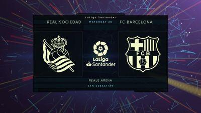 Highlights   Real Sociedad - Barcelona   Vòng 28 La Liga 2020/21